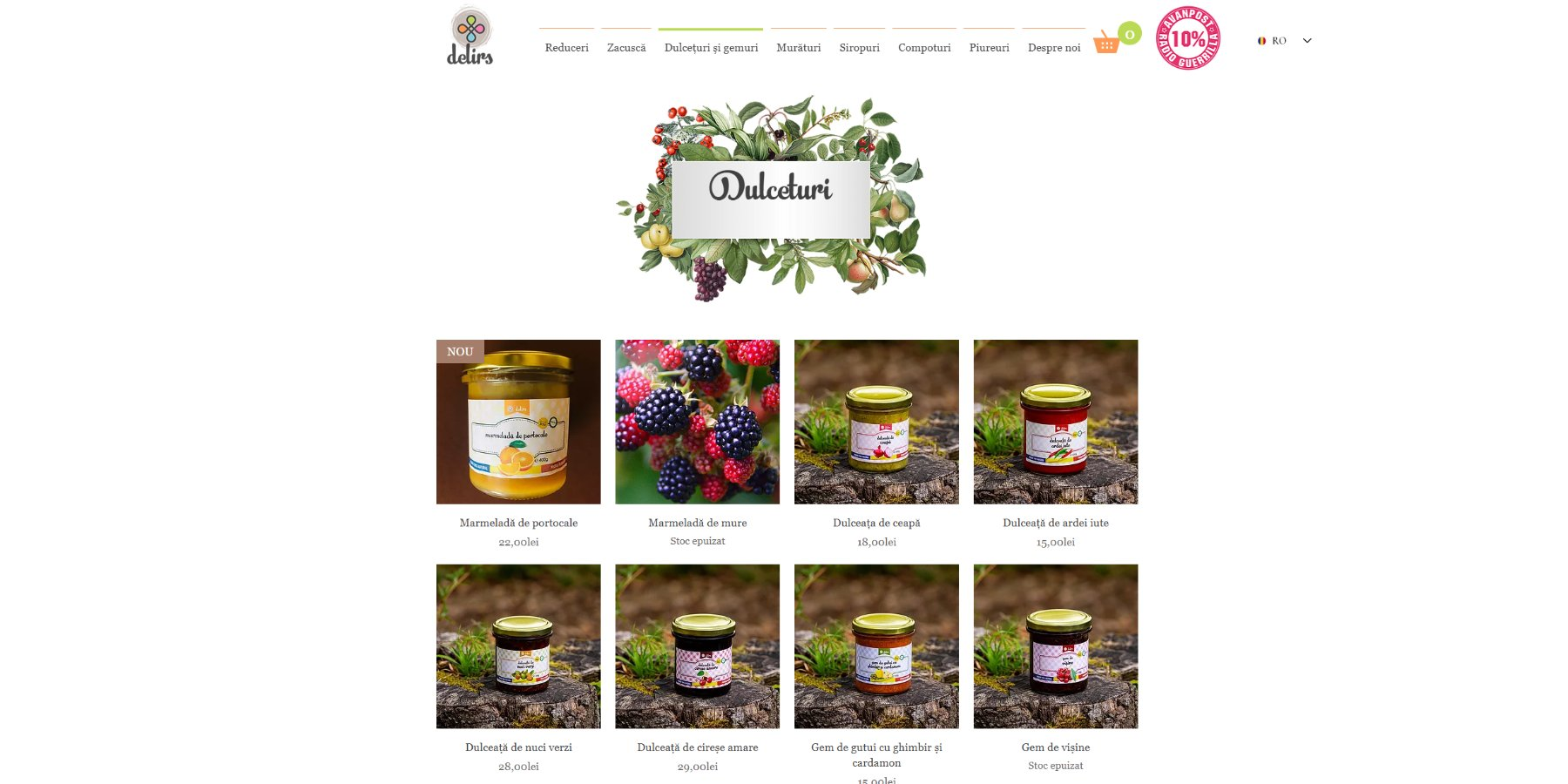 Delirs - magazin online